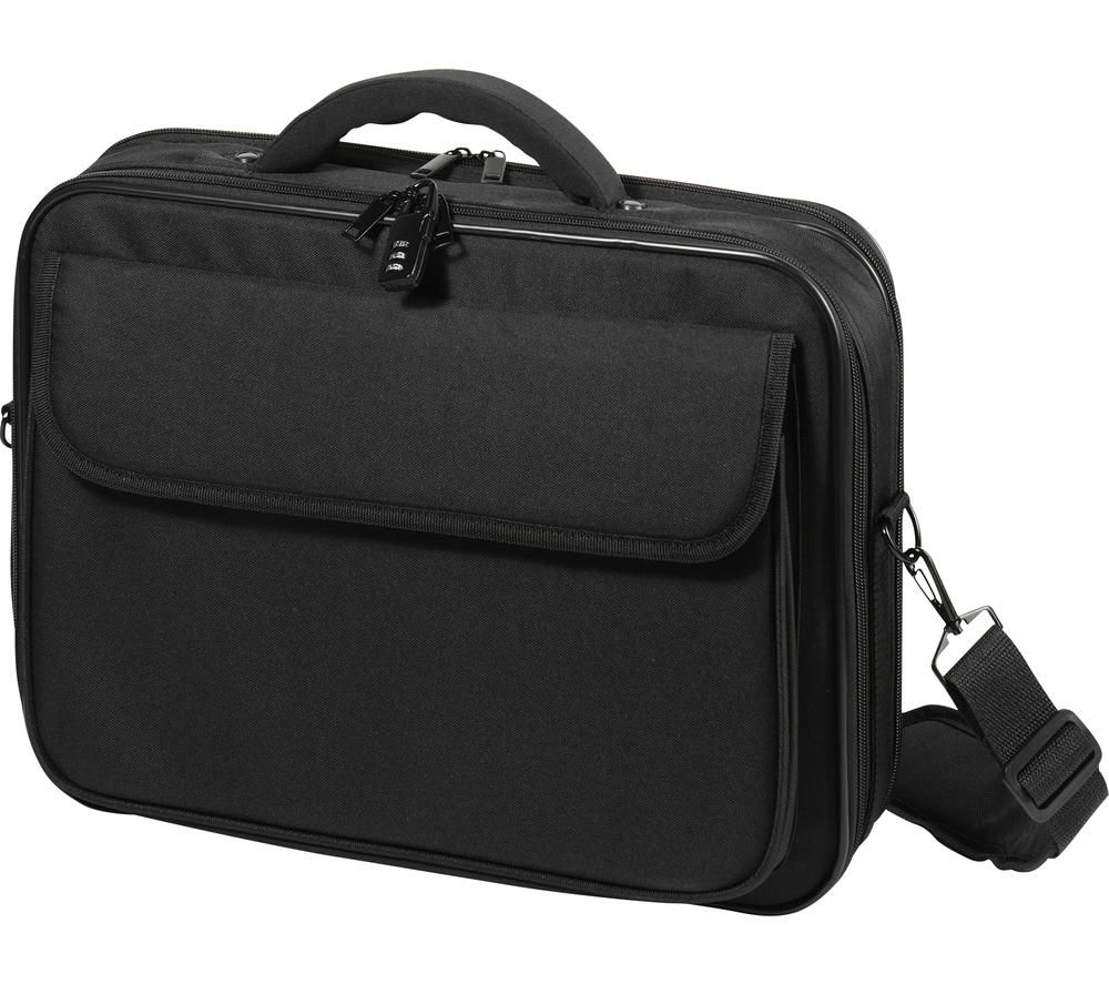 "Image of VIVANCO Advanced Wide 15.6"" Laptop Messenger Bag - Black, Black"