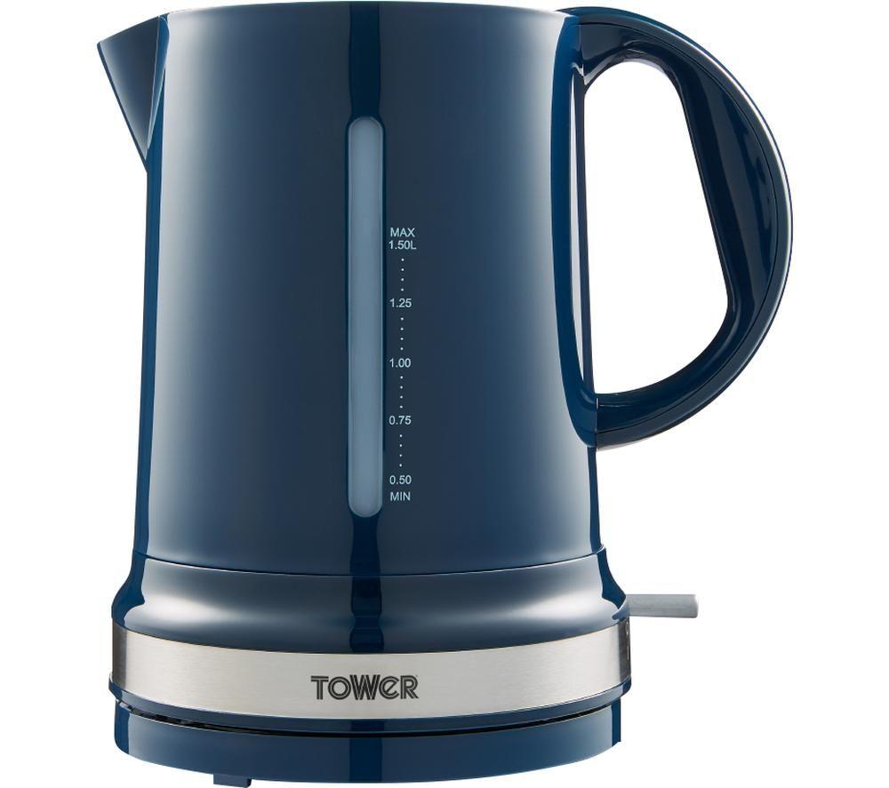 TOWER Belle T10049MNB Jug Kettle - Midnight Blue, Blue