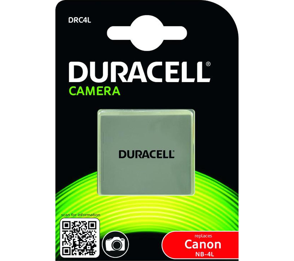 Duracell Drc4l Lithium Ion Rechargeable Camera Battery