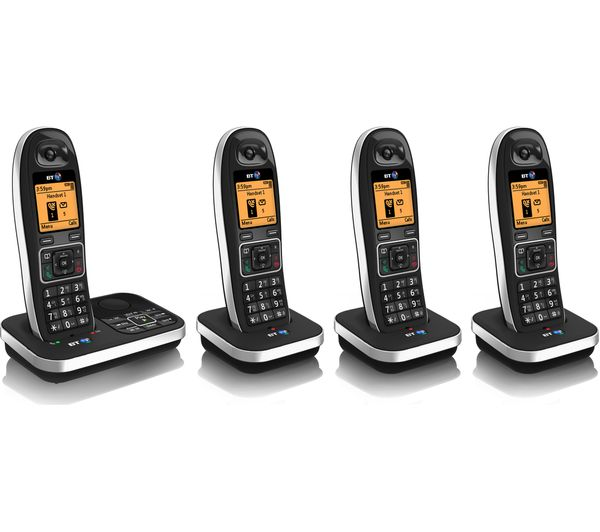 buy bt 7610 cordless phone with answering machine quad. Black Bedroom Furniture Sets. Home Design Ideas