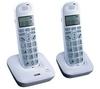 LOGIK L20DBIG10 Cordless Phone - Twin Handsets