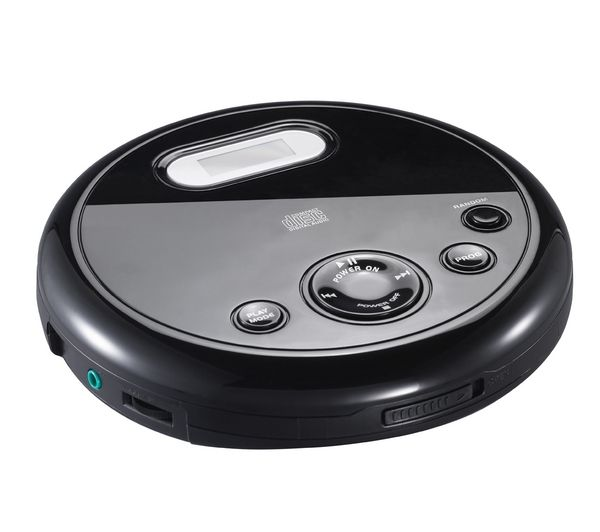 ESSENTIALS Personal CD Player CPERCD11- Black