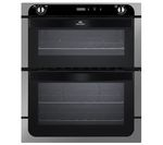 NEW WORLD NW701DOP Electric Built-under Double Oven - Stainless Steel