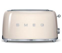 TSF02CRUK 4-Slice Toaster - Cream