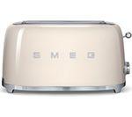 SMEG TSF02CRUK 4-Slice Toaster - Cream