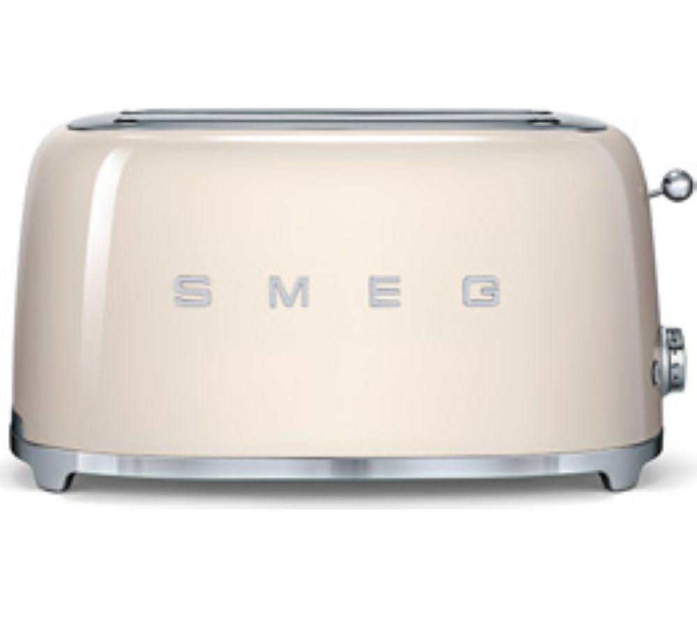 Buy smeg tsf02cruk 4 slice toaster cream free delivery Kitchen appliance reviews uk