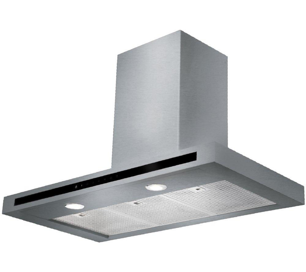 RANGEMASTER Hi-LITE 90 Chimney Cooker Hood - Stainless Steel