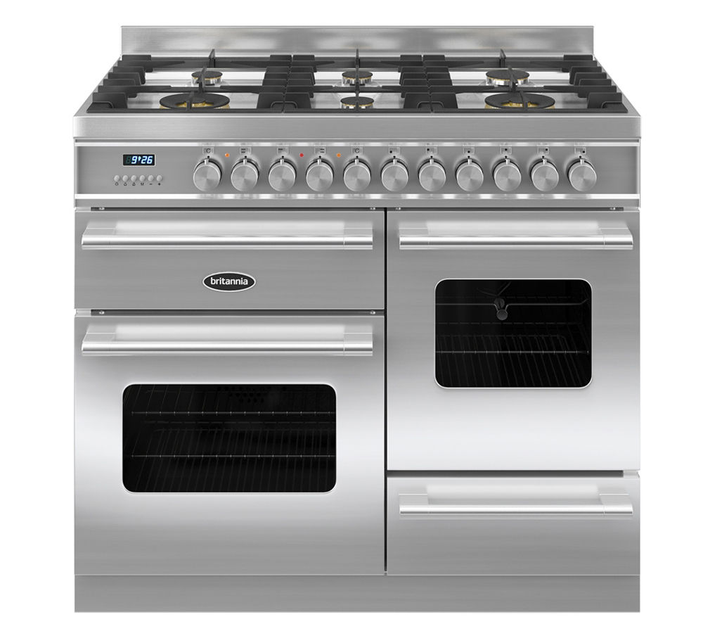 Compare prices for Britannia Delphi 100 RC10XGGDES Dual Fuel Range Cooker