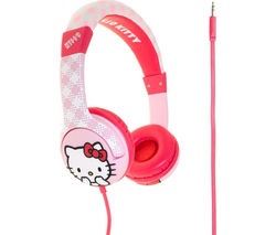 Hello Kitty Kids Headphones - Pink