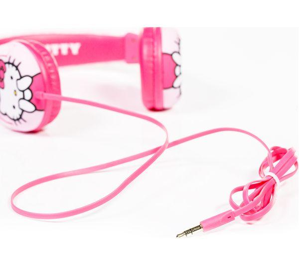 Hello Kitty Kids Headphones Pink