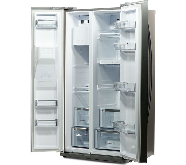 daewoo drq29npes fridge freezer silver