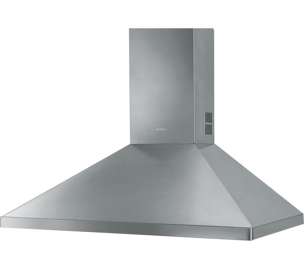SMEG KD91XE Chimney Cooker Hood - Stainless Steel