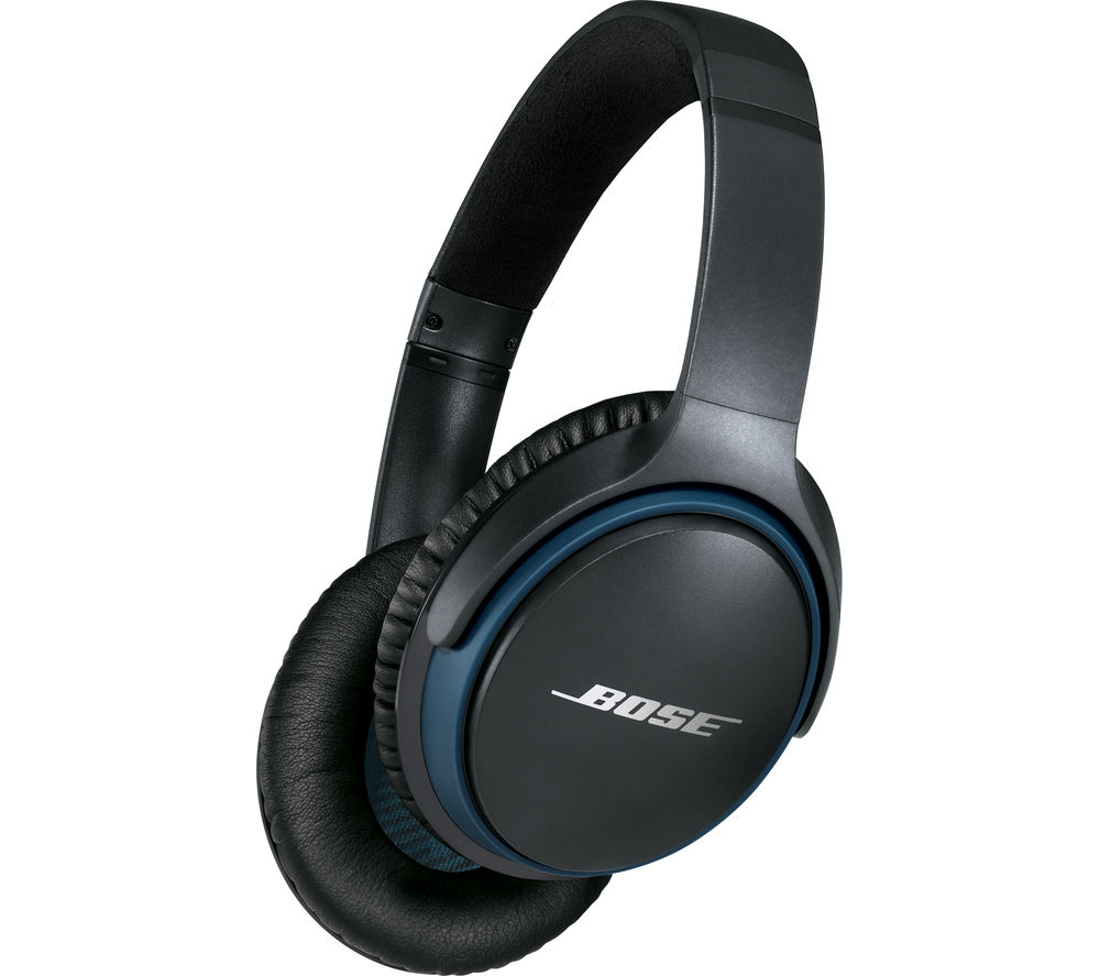 bose soundlink ii wireless bluetooth headphones black deals pc world. Black Bedroom Furniture Sets. Home Design Ideas