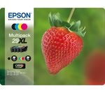 EPSON Strawberry 29 XL Cyan, Magenta, Yellow & Black Ink Cartridges - Multipack