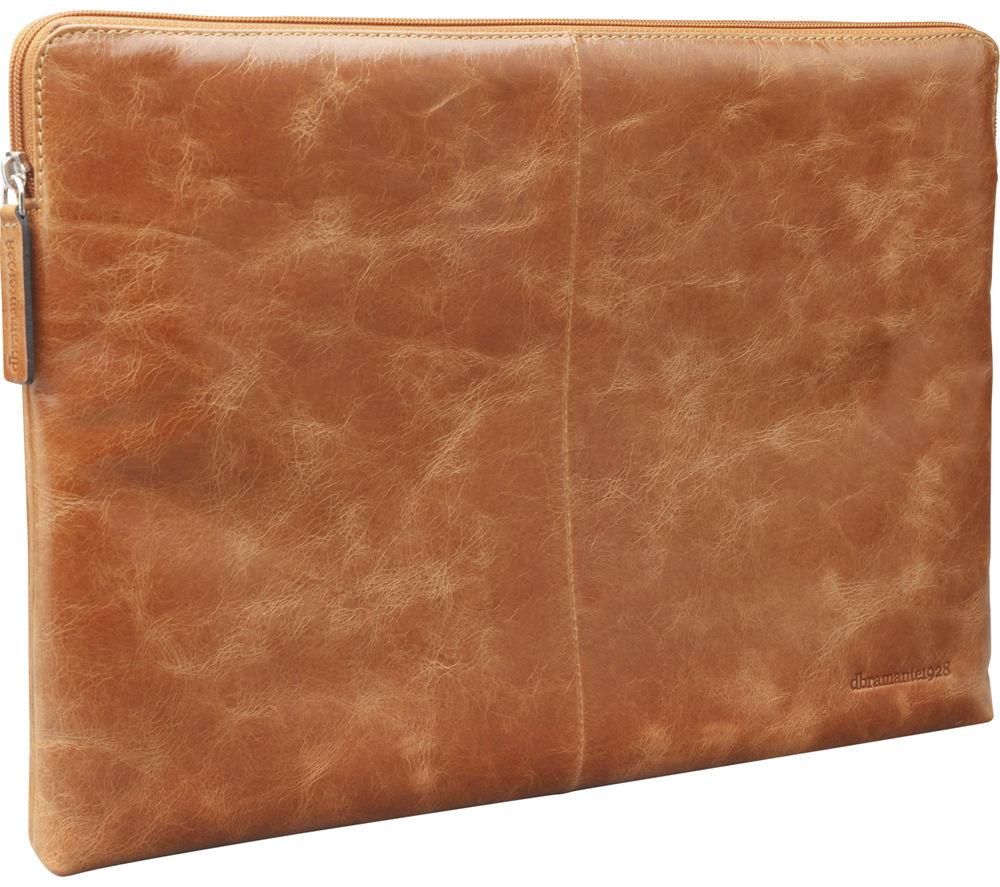 """DBRAMANTE 1928 Skagen MB 13"""" MacBook Leather Sleeve - Tan"""