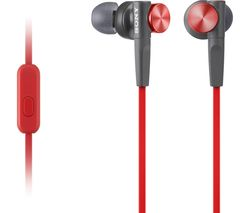 SONY MDRXB50APR.CE7 Headphones - Red