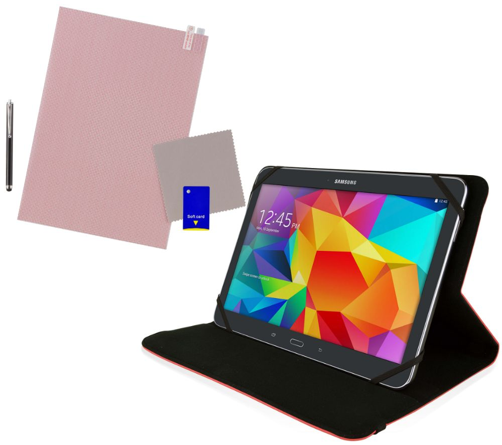 "LOGIK L10USRD16 10"" Tablet Starter Kit - Red"