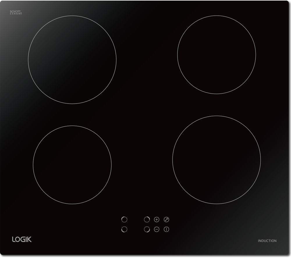LOGIK LINDHOB16 Electric Induction Hob - Black