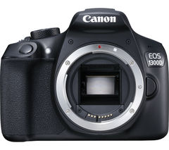 CANON EOS 1300D DSLR Camera - Black, Body Only