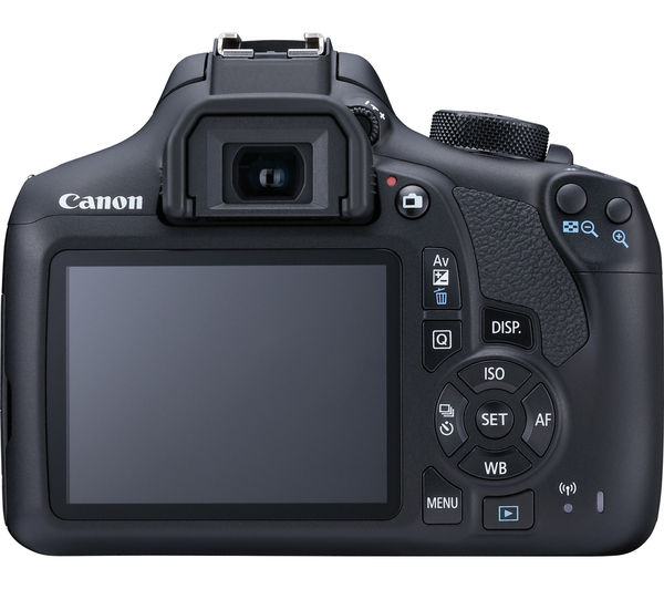 Buy CANON EOS 1300D DSLR Camera - Black, Body Only | Free Delivery ...