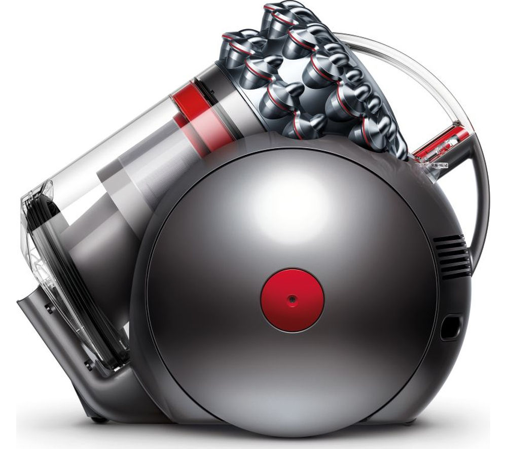 DYSON Cinetic Big Ball Animal Cylinder Bagless Vacuum Cleaner - Iron & Nickel + Zorb Carpet Cleaner