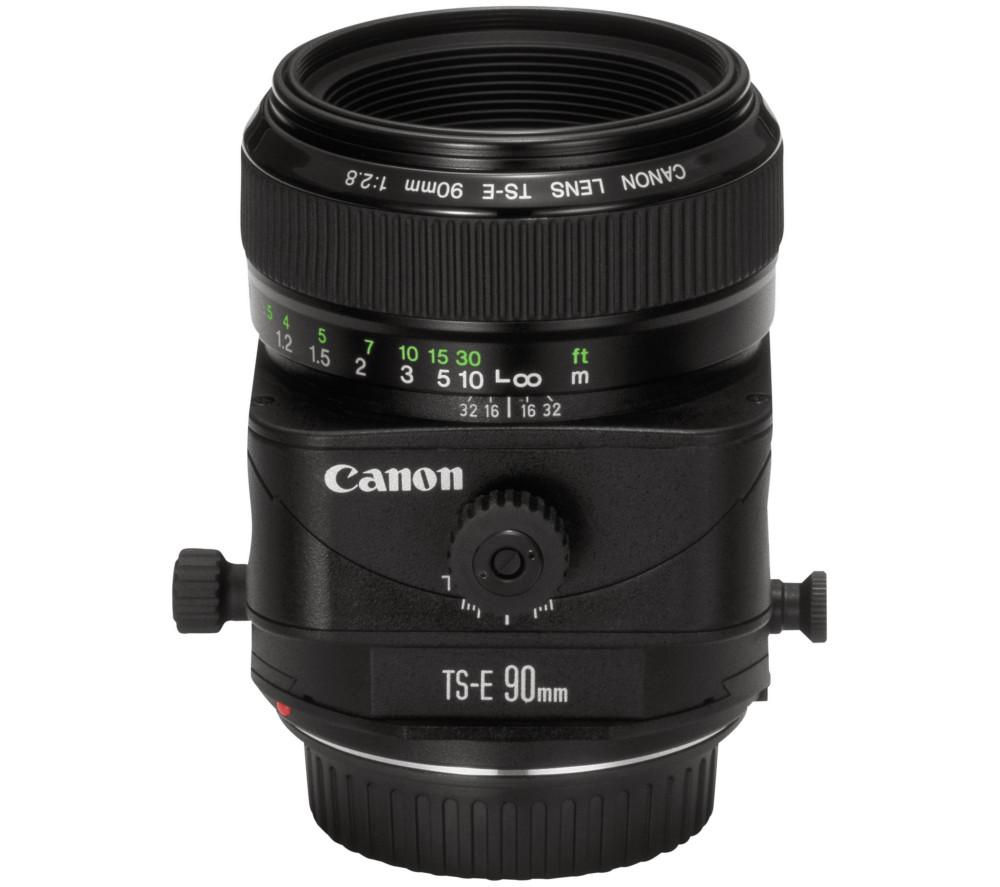 CANON TS-E 90 mm f/2.8 Tilt-shift Lens