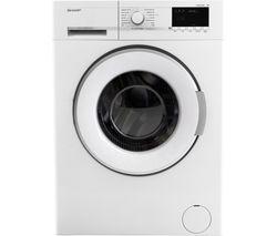 SHARP ES-GFB7123W3 Washing Machine - White