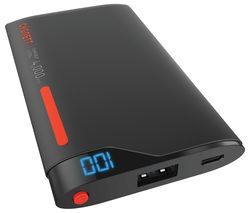 CYGNETT ChargeUp Portable Power Bank - Red & Grey