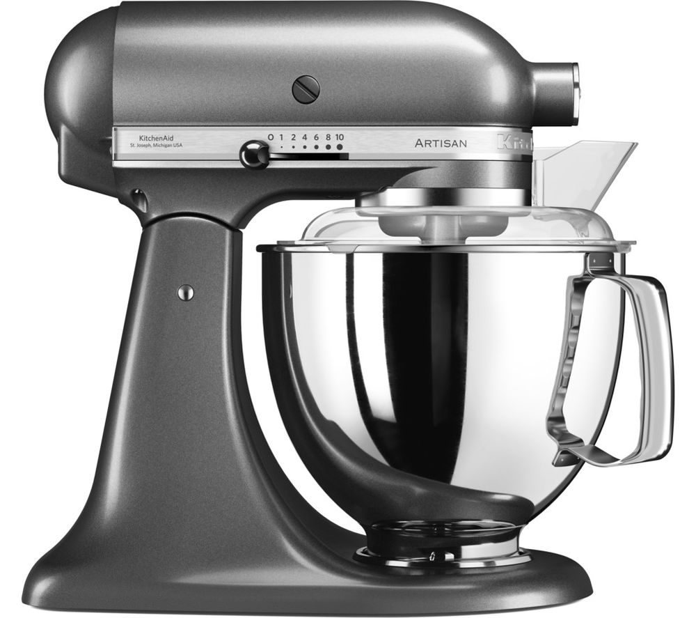 Buy KITCHENAID Artisan 5KSM17PSMBS Stand Mixer - Medallion Silver | Free Delivery | Currys
