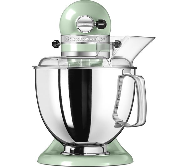 Buy kitchenaid artisan 5ksm175bpt stand mixer pistachio free delivery currys - Kitchenaid artisan stand mixer parts ...