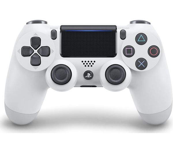 Image of SONY DualShock 4 V2 Wireless Controller - White