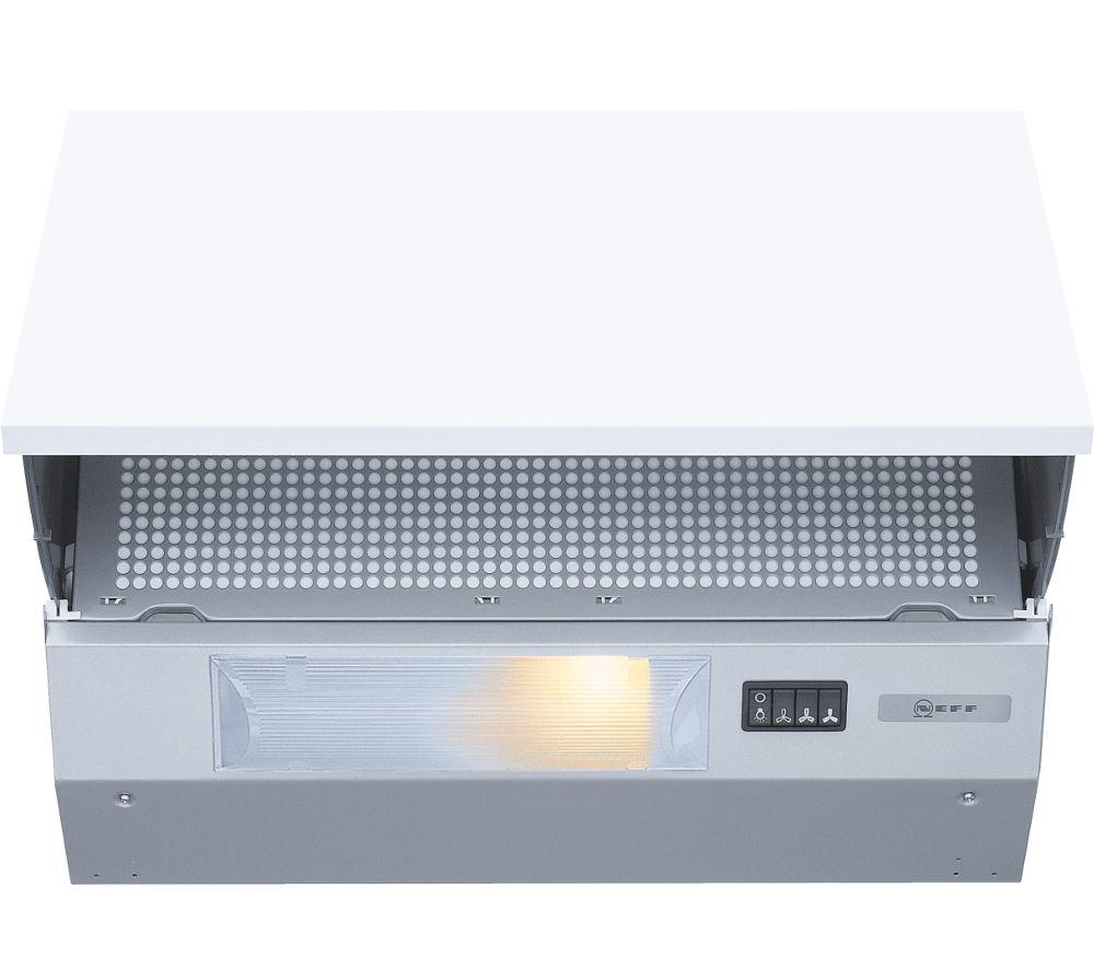 NEFF D2615X0GB Integrated Cooker Hood - Silver