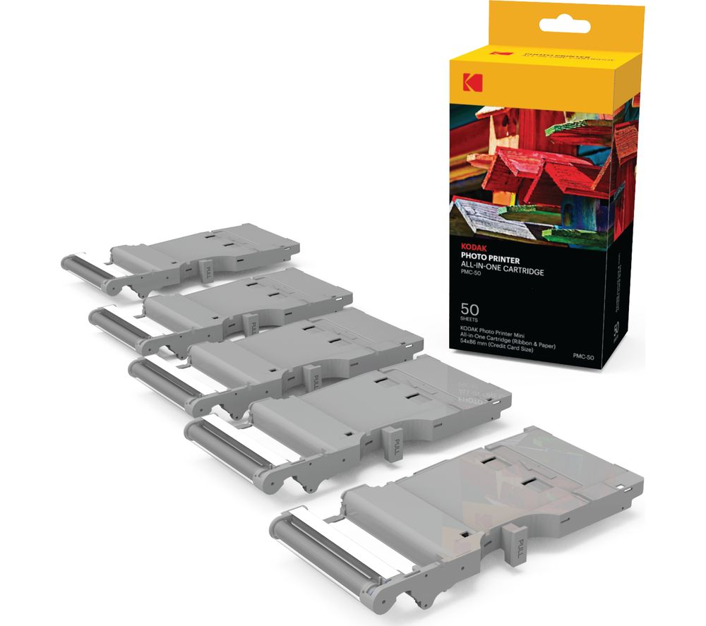 KODAK KODPMC50 Mini Ink Cartridges - Multipack