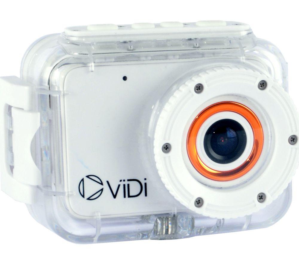 VIDI VDCK021 Action Camcorder - White