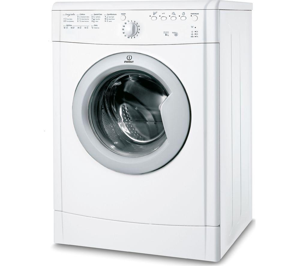Image of INDESIT IDVL 86 SD 8 kg Vented Tumble Dryer - White, White