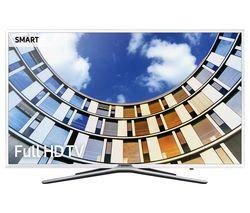 """SAMSUNG UE49M5510 49"""" Smart LED TV - White"""
