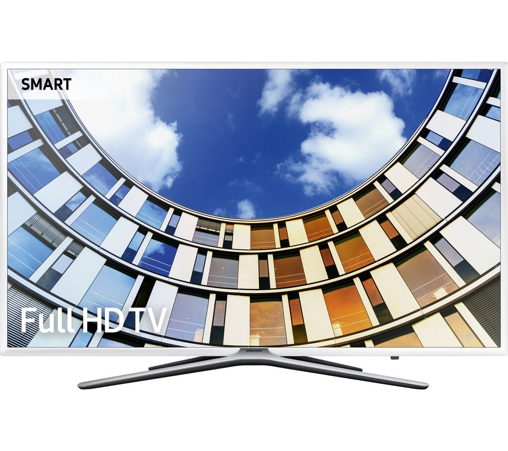 "49"" SAMSUNG UE49M5510 Smart LED TV - White, White Review thumbnail"