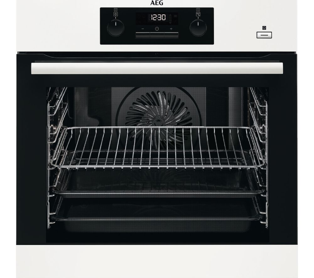 AEG BEB351010W Electric Oven - White, White