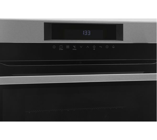 Buy aeg kme761000m built in combination microwave stainless steel free delivery currys for Stainless steel interior microwave reviews