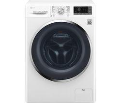 LG Titan FH4U2TDN2W 8 kg 1400 Spin Washing Machine - White