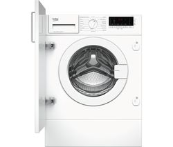 BEKO WIY72545 Integrated 7 kg 1200 Spin Washing Machine Best Price, Cheapest Prices