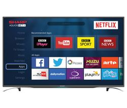 "SHARP LC-49CFG6352K 49"" Smart LED TV"