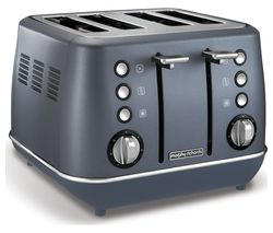 MORPHY RICHARDS Evoke Premium 4-Slice Toaster - Steel Blue