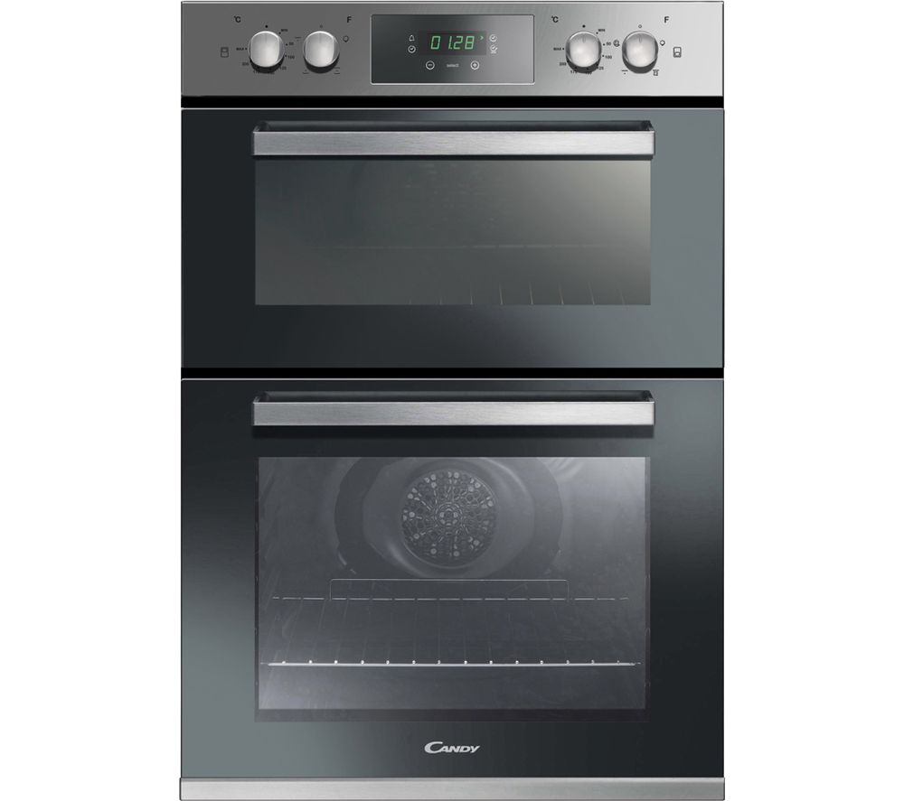 CANDY FC9D415X Electric Double Oven - Stainless Steel, Stainless Steel