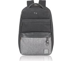 "SOLO Endeavor 15.6"" Laptop Backpack - Grey"