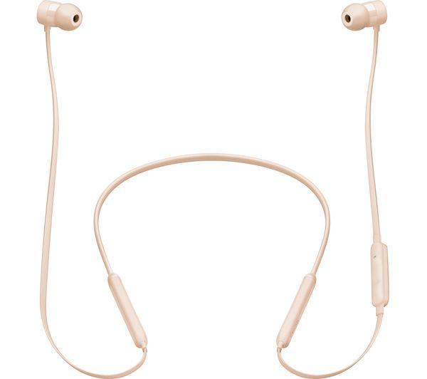 3c71db18529 Buy BEATS X Wireless Bluetooth Headphones - Matte Gold | Free ...