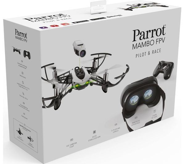 PARROT Mambo FPV PF727006 Drone With Flypad Controller