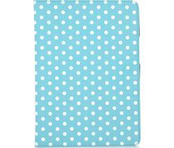 "GOJI 9.7"" iPad Folio Case - Blue & White"