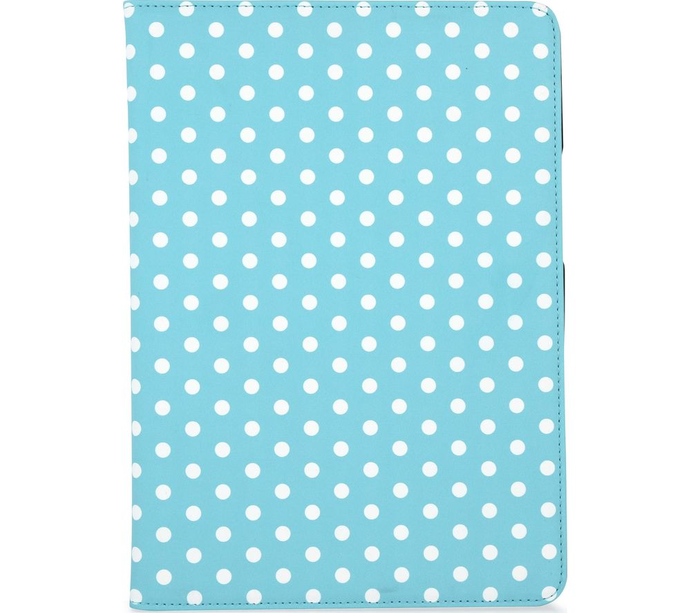"GOJI 9.7"" iPad Folio Case - Blue & White"