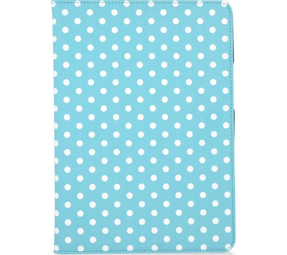 GOJI 9.7 inch iPad Folio Case - Blue & White